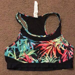 Fabletics tropical sports bra